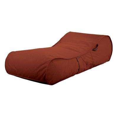 Montlake Heather Henna Outdoor Frameless Furniture Lounger