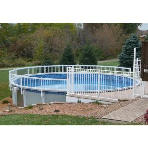 Sentry Safety Pool Fence Premium Guard Above Ground Pool Fence Add ...