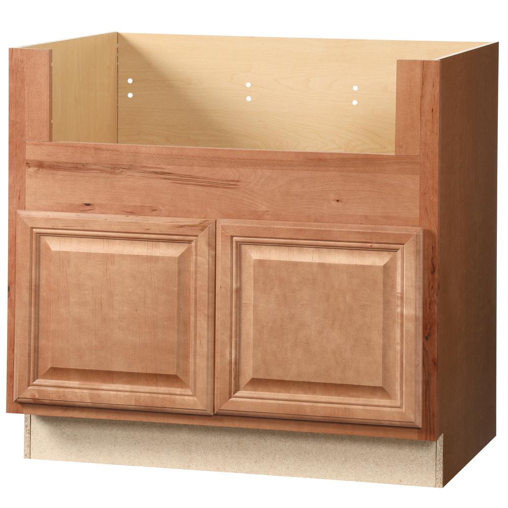 Hampton Bay Cambria Assembled 36x34.5x24 In. Farmhouse Apron-Front Sink Base Kitchen Cabinet In