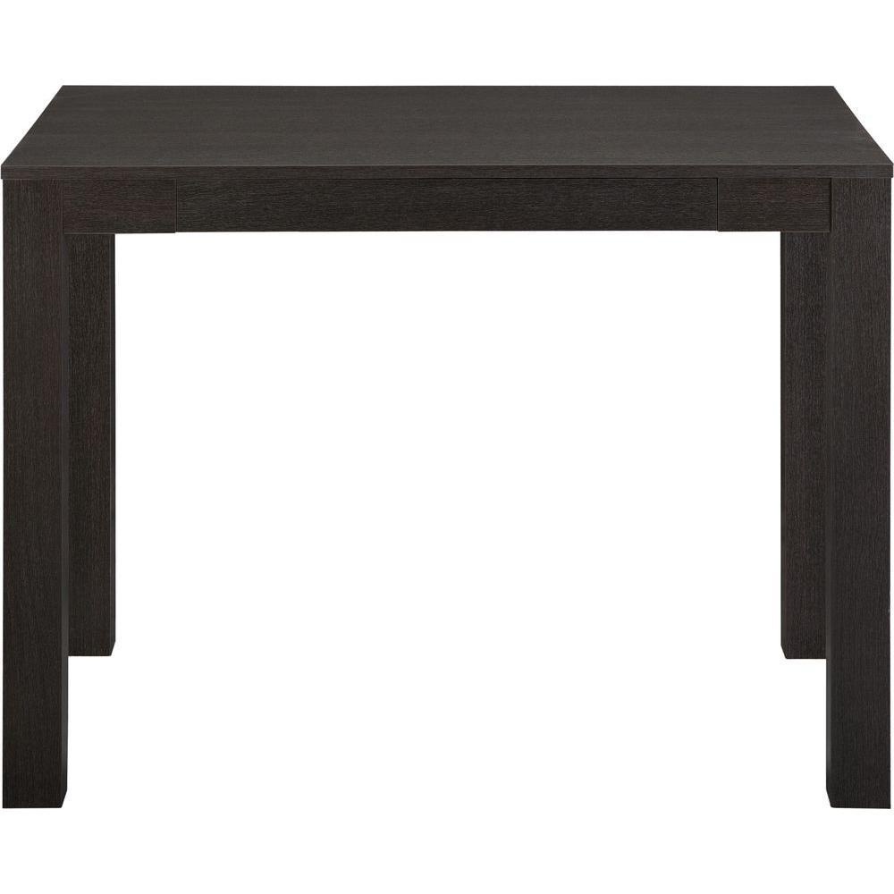 Ameriwood Home Nelson Black Oak Desk With Drawer