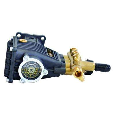 9.6GA12 3,200 psi 2.8 GPM AAA Triplex Plunger Horizontal Pump with Brass Head and Powerboost Technology