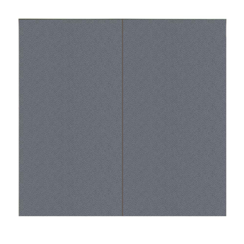 SoftWall Finishing Systems 64 sq. ft. Fabric Covered Full Kit Wall Panel