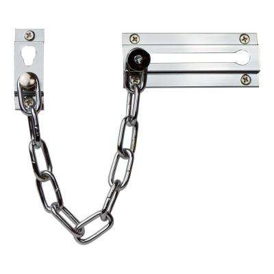 Polished Chrome Solid Brass Chain Door Guard