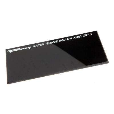 4-1/4 in. x 2 in. #10 Shade Hardened Glass Replacement Lens
