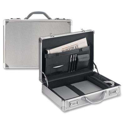 17 in. Silver Aluminum Classic Tablet Attached with Handle