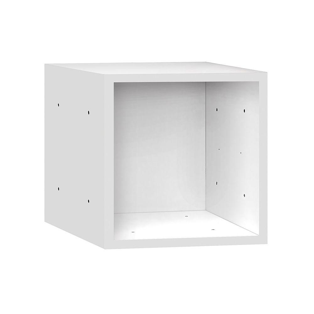 Salsbury Industries 31000 Series 15 in. W x 15 in. H x 15 in. D Wood Cubby in White