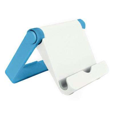 Universal Folding Stand for Tablets and Smartphones, Blue