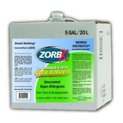 5 Gal. Unscented Odor Remover