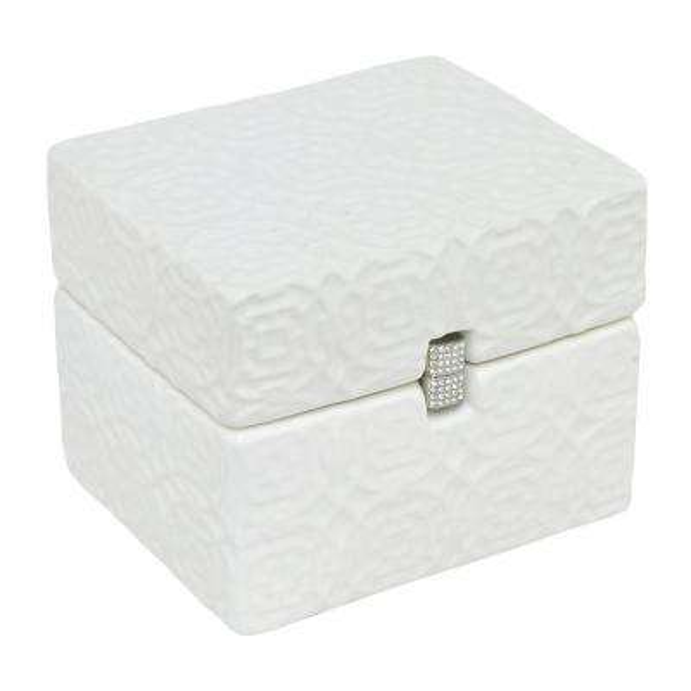 White Porcelain-Ceramic Box