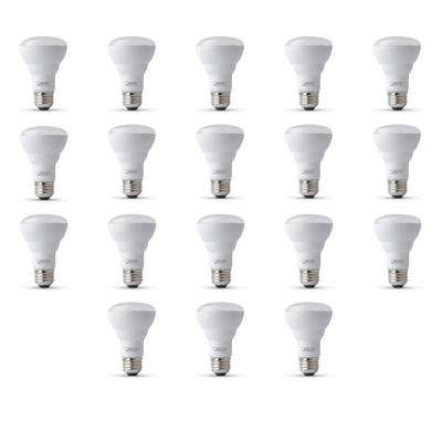 45-Watt Equivalent R20 Dimmable CEC Title 20 Compliant LED ENERGY STAR 90+ CRI Flood Light Bulb, Bright White (18-Pack)