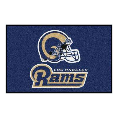 Los Angeles Rams 19 in. x 30 in. Accent Rug