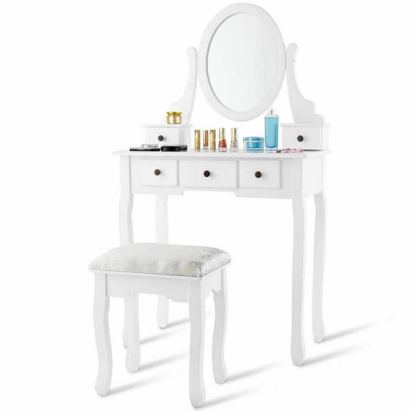Desk Vanity Dressing Table Set