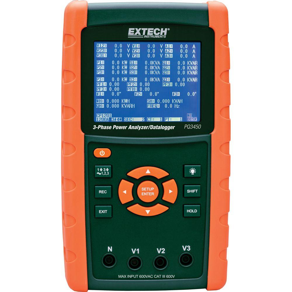 Amp Electrical Data Logger : Extech instruments humidity and temperature data logger