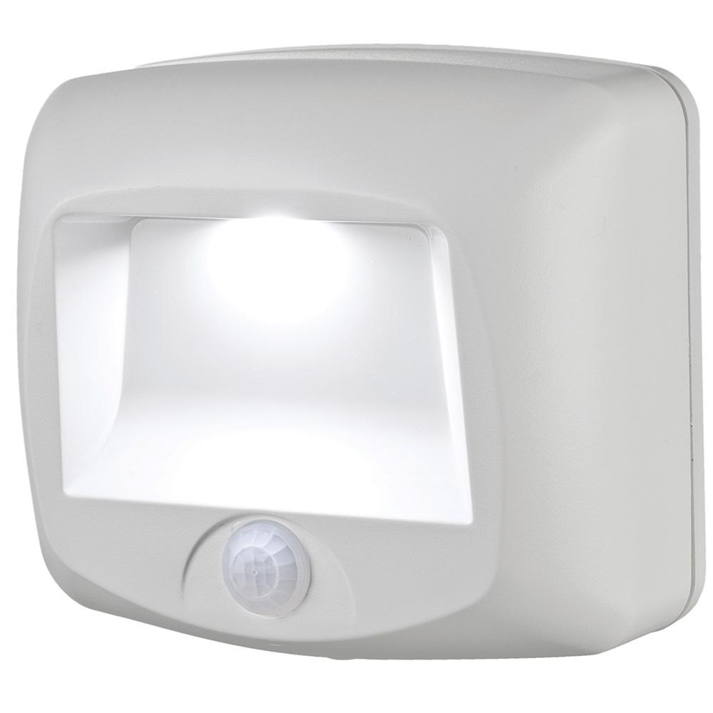 Wireless Home Lighting: Mr Beams Wireless White Outdoor Motion Sensing Step Deck