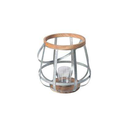 Large Size Outdoor Mixed Material Lantern