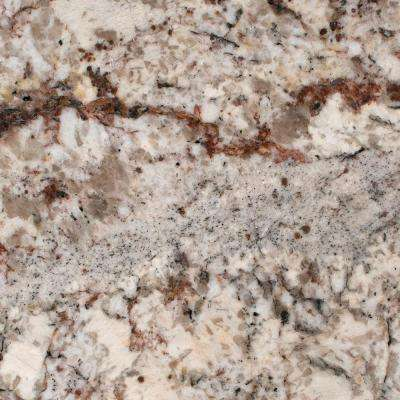 3 in. x 3 in. Granite Countertop Sample in White Springs