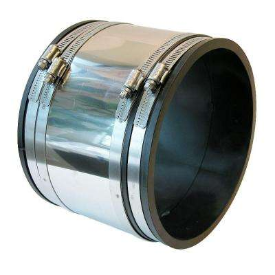 4 in. x 6 in. Flexible PVC Shear-Ring Coupling