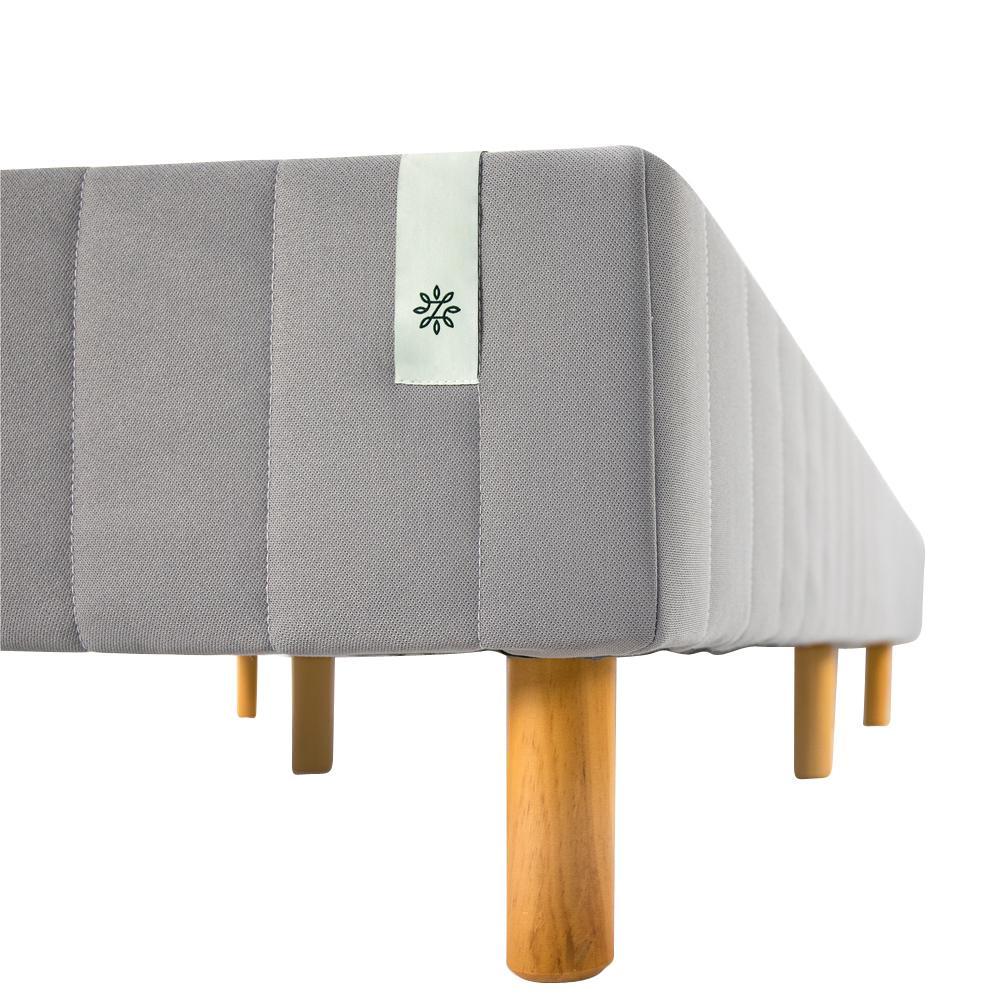 Good Design Winner Grey Metal Twin XL 16 in. Mattress Foundation