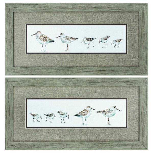Homeroots Victoria 8 In X 10 In Wood Toned Gallery Frame Set Of 2 365845 The Home Depot
