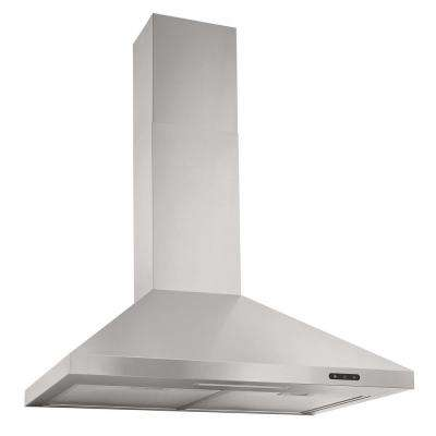700 CFM Stainless Steel extra Large 2 LED Lamps Simple Deluxe HIRAGHOD700CFM30V1 30 Inch Under-Cabinet Kitchen Range Hood 3-Speed Control Modern Contemporary Design with Dual Motor