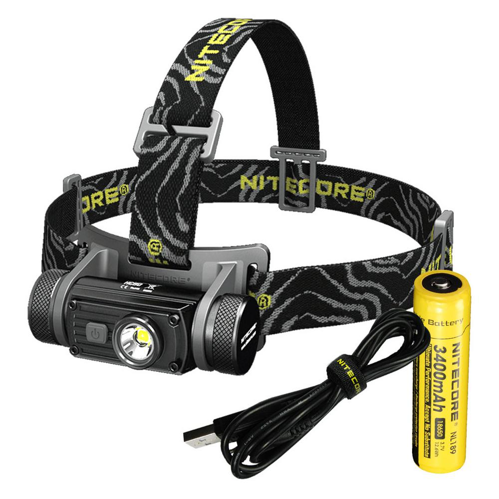 Nitecore Hc Series Hc60 1000 Lumens Led Rechargeable Headlamp
