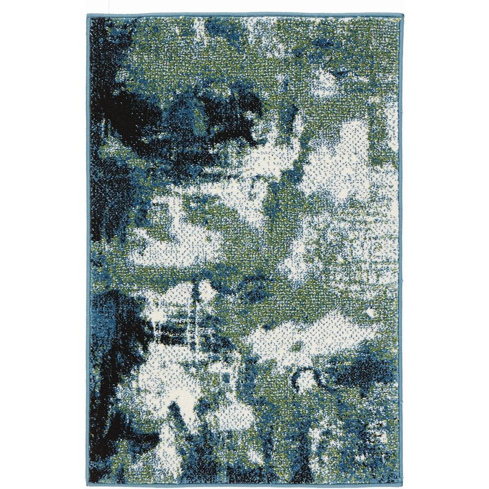 Home Decorators Collection Journey BlueGreen 2 ft