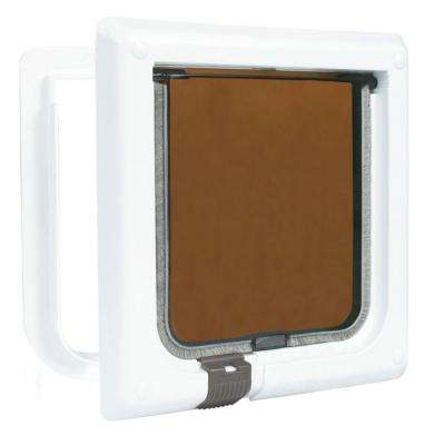 5.75 in. x 6 in. 2-Way Cat Door