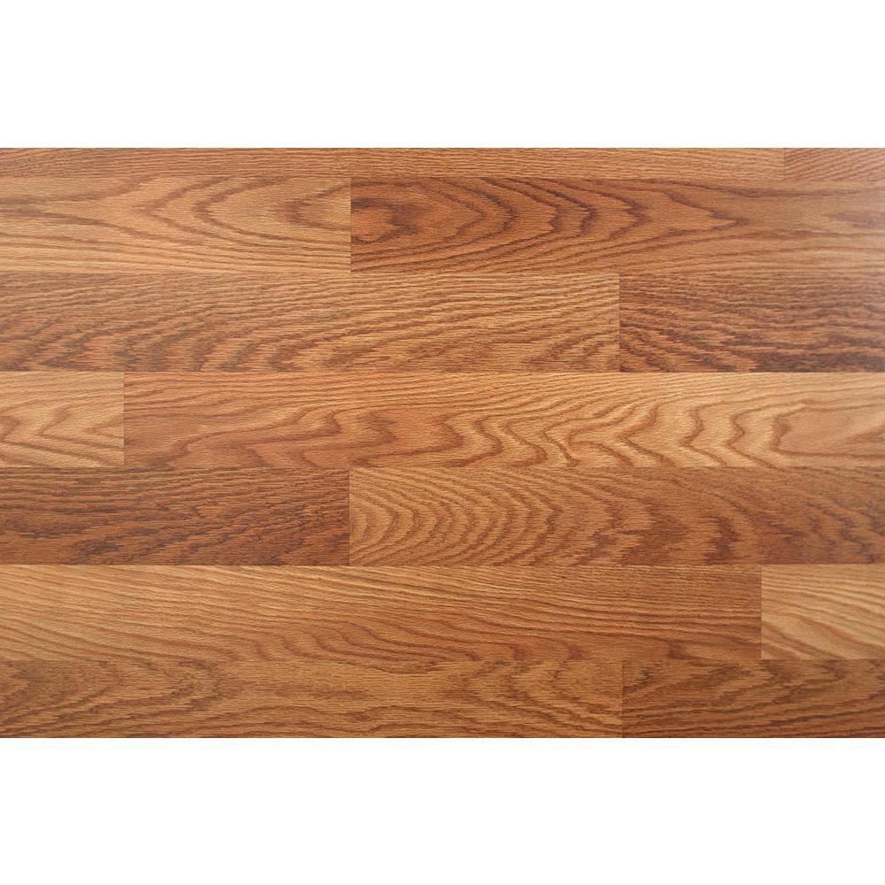 Trafficmaster Lansbury Oak 7 Mm Thick X, Lansbury Oak Laminate Flooring