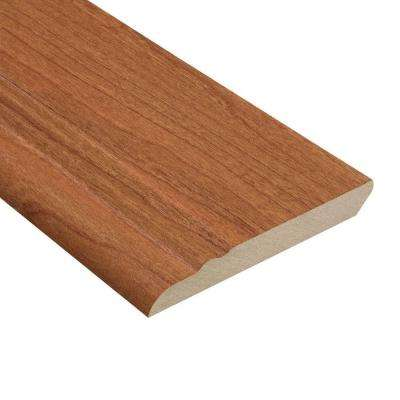 Canyon Cherry 1/2 in. Thick x 3-13/16 in. Wide x 94 in. Length Laminate Wall Base Molding