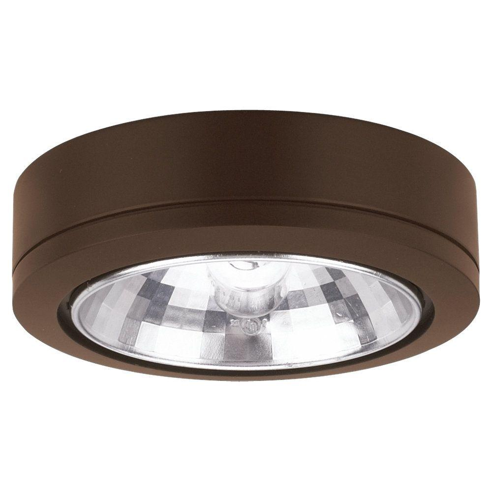 Ambiance 24 Degree Beam Painted Antique Bronze Xenon Accent Disk Light