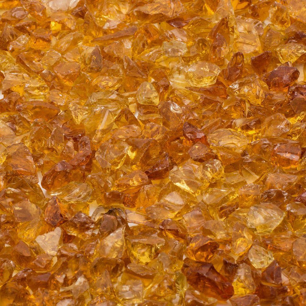 1/4 in. 20 lb. Chestnut Landscape Glass