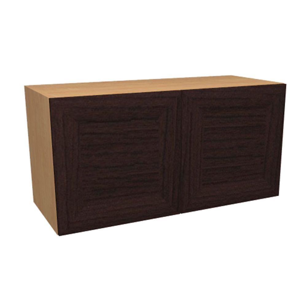 Gentil Home Decorators Collection Dolomiti Ready To Assemble 30 X 12 X 12 In. Wall  Cabinet