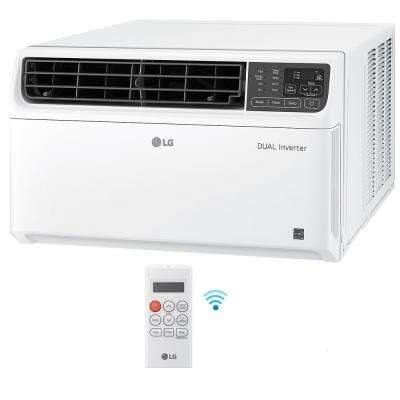 22,000 BTU Dual Inverter Smart Window Air Conditioner with Wi-Fi Enabled and Remote in White
