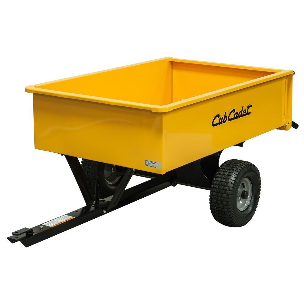 Cub Cadet 10 cu. ft. 1000 lb. Steel Dump Cart