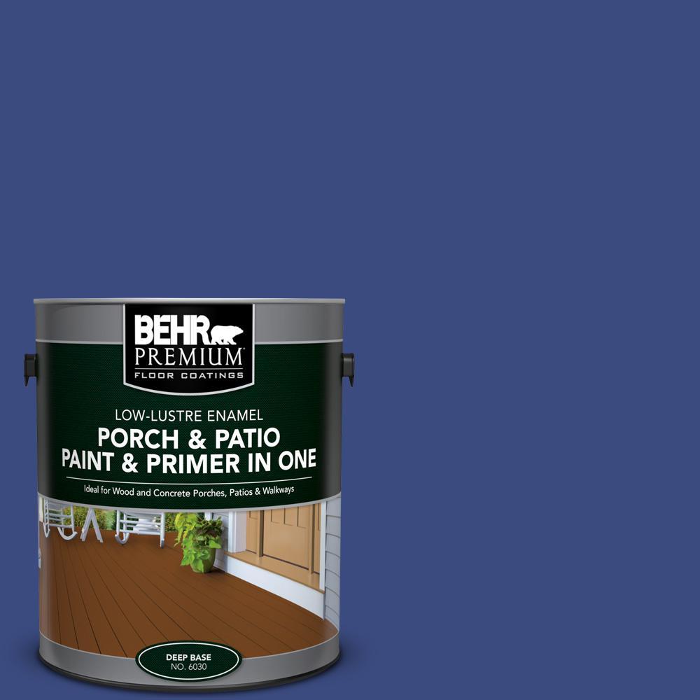 BEHR Premium 1 Gal. #P530 7 Tanzanite Low Lustre Interior/Exterior