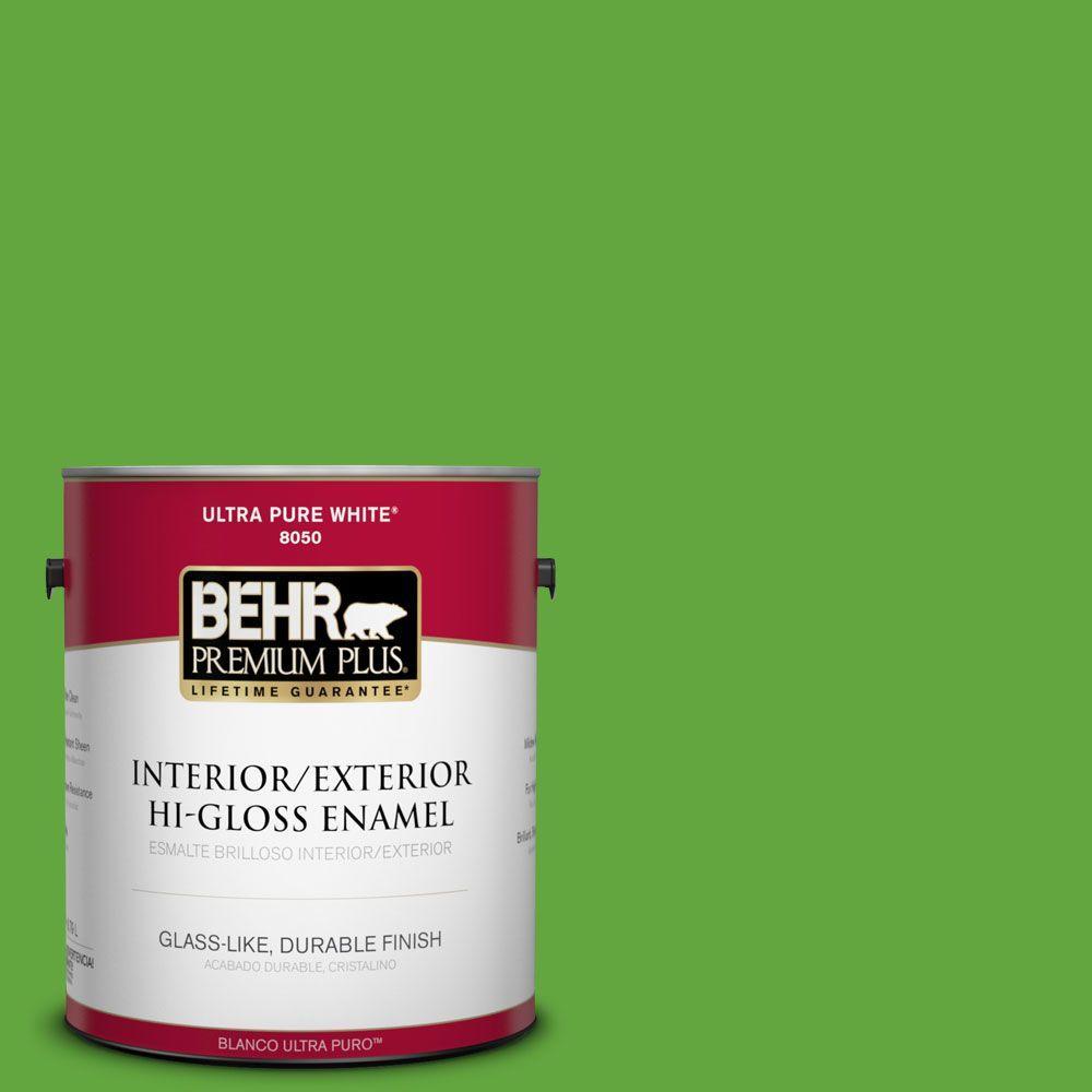 1-gal. #430B-6 Caterpillar Hi-Gloss Enamel Interior/Exterior Paint