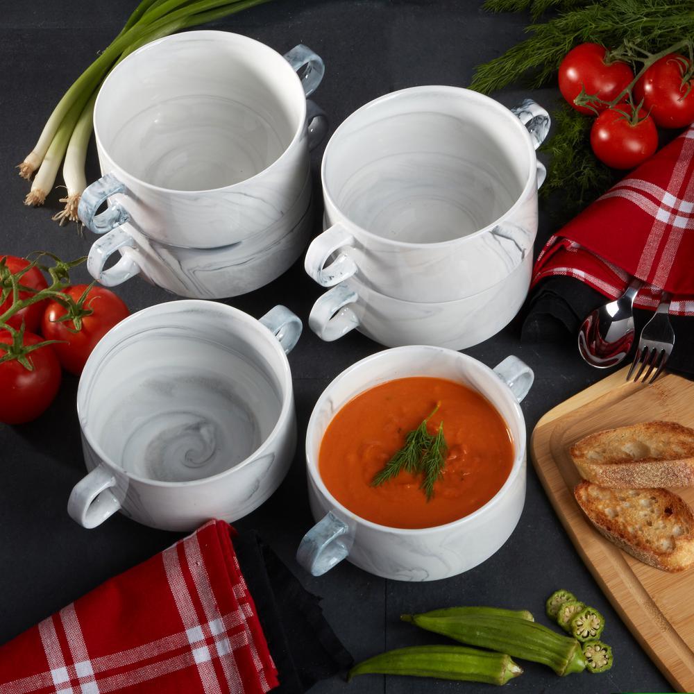 Marble Soup Crocks (Set of 6)