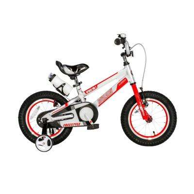 18 in. Wheels Space No. 1 Kid's Bike, Boy's Bikes and Girl's Bikes, Light Weight Aluminum with Training Wheels in Silver
