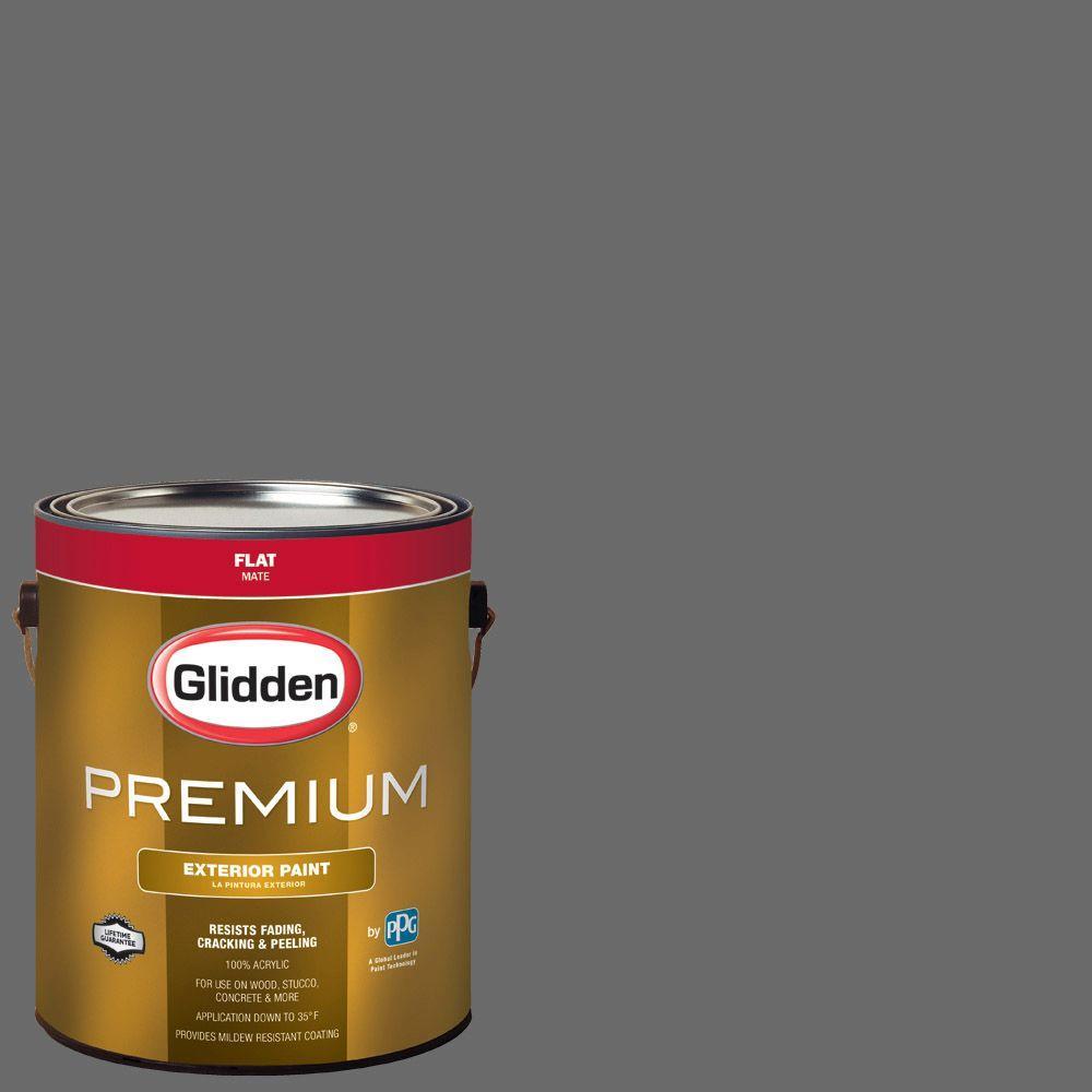 Hdgcn64d Grey Tabby Flat Latex Exterior Paint