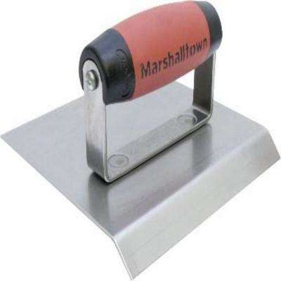 6 in. x 6 in. Stainless Steel Chamfer Edger 3/4 in. lip DuraSoft Handle
