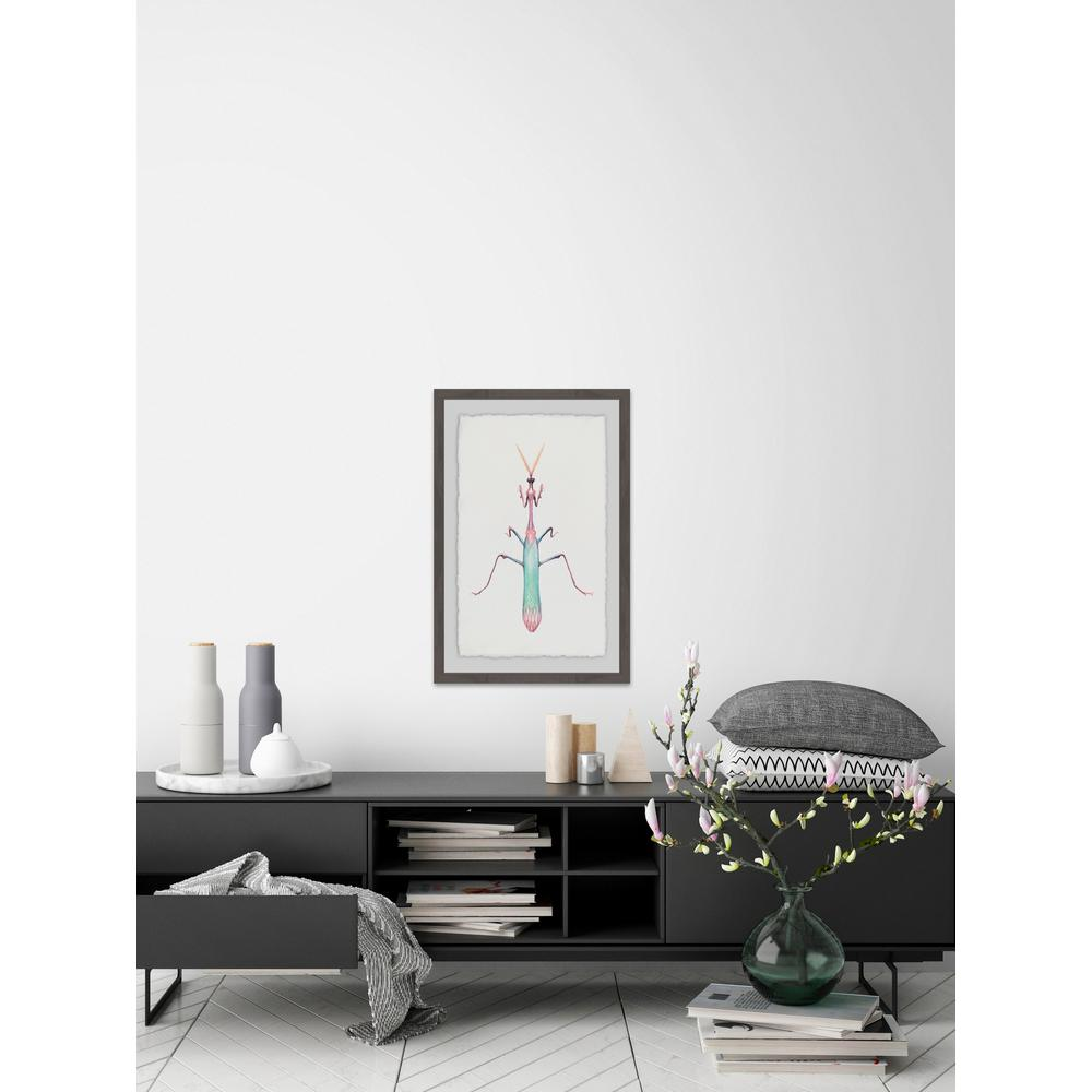"36 in. H x 24 in. W ""Pastel Mantis"" by Marmont"