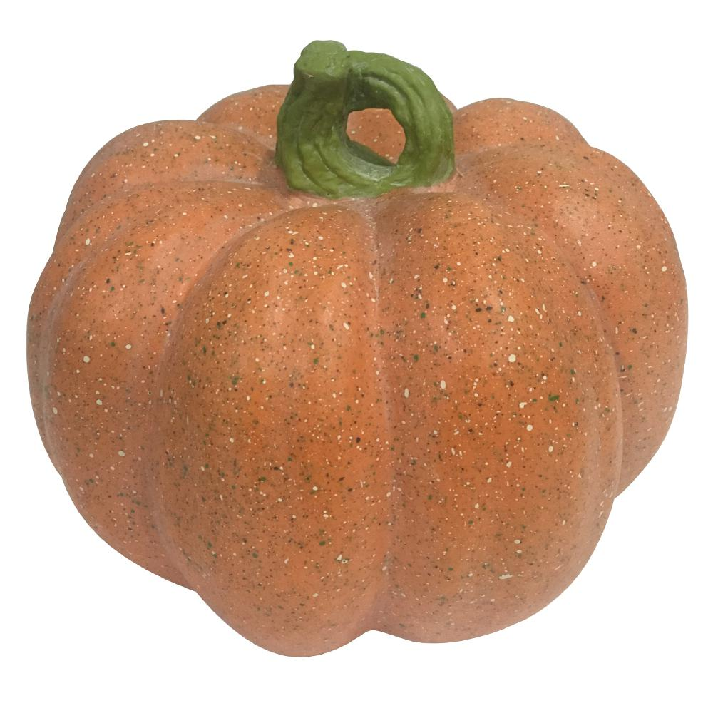 Home Accents Holiday 7.5 in. Harvest Pumpkin in Orange