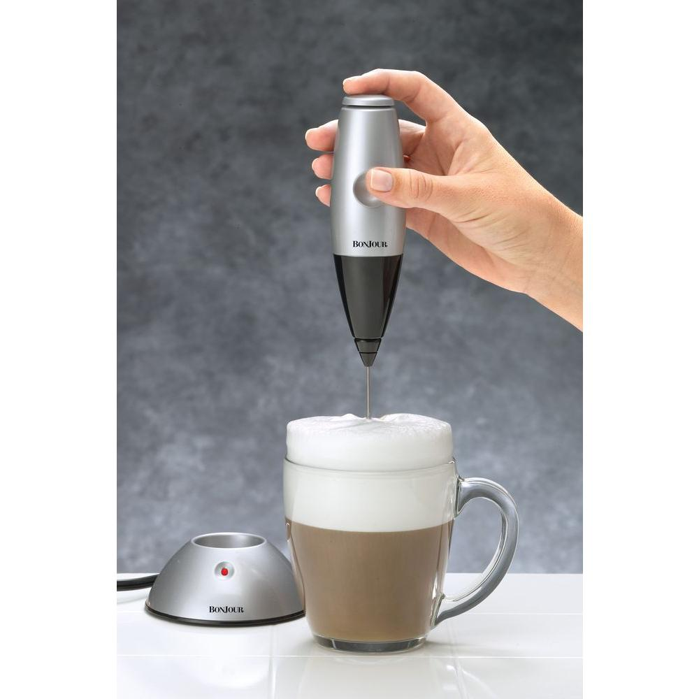 BonJour Rechargeable Primo Latte includes Electric Base