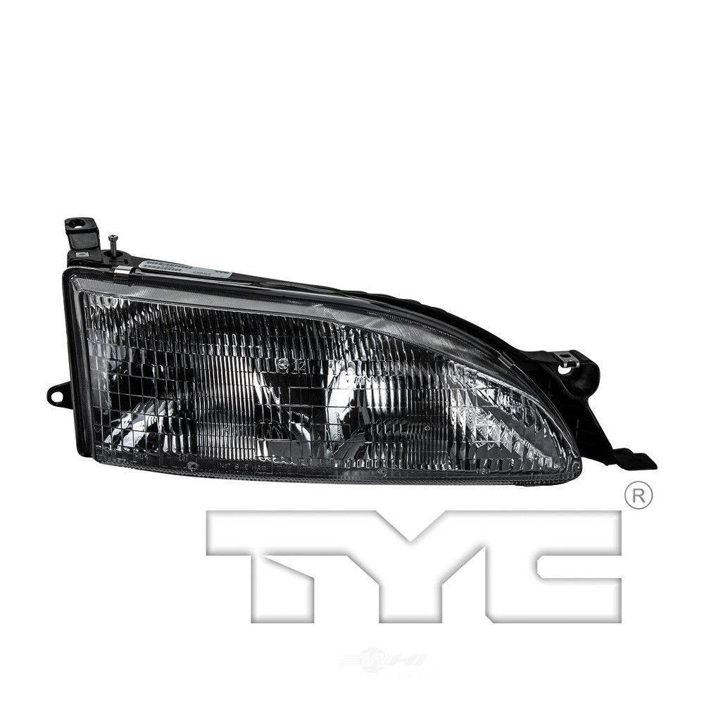 Tyc Headlight Assembly 1995 1996 Toyota Camry 2 2l 3 0l 20 3008 00 The Home Depot