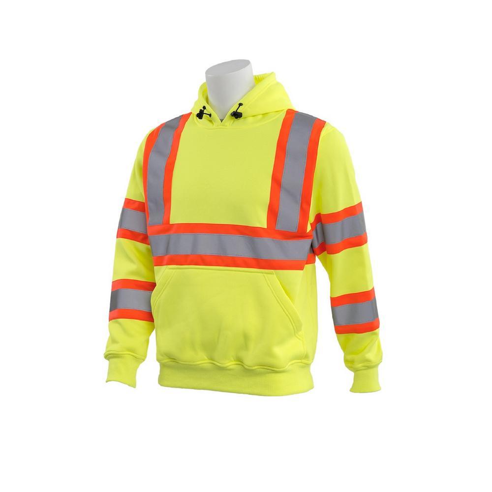 W376C 5X-Large HVL Polyester Safety Sweatshirt