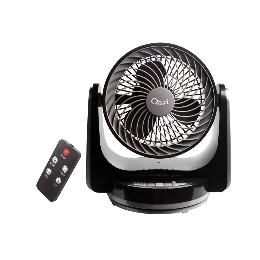 Brezza III 10 in. Dual Oscillating High Velocity Desk Fan