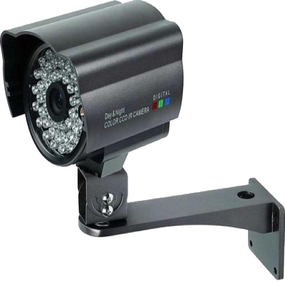 SeqCam Wired Weatherproof 420TVL Indoor or Outdoor Bullet Standard Surveillance Camera with 131 ft. Night Vision