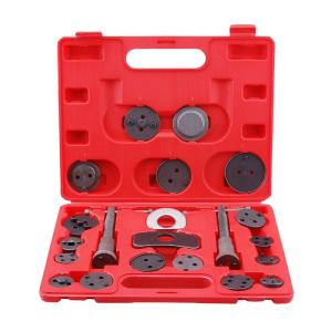 SPEEDWAY Universal Disc Brake Caliper Piston Pad Auto Car Wind Back Tool Kit with Case (21-Piece) by SPEEDWAY