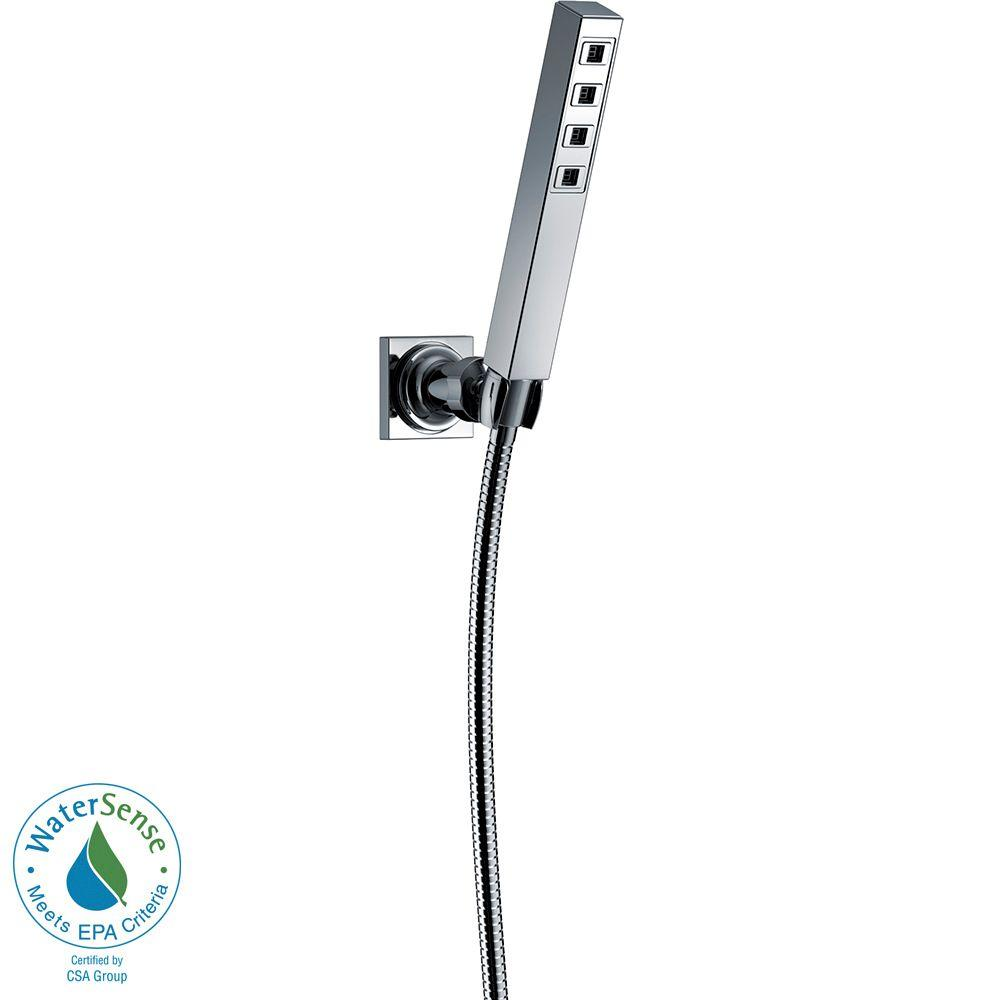 Delta Ara 1 Spray Hand Shower With Wall Mount In Chrome