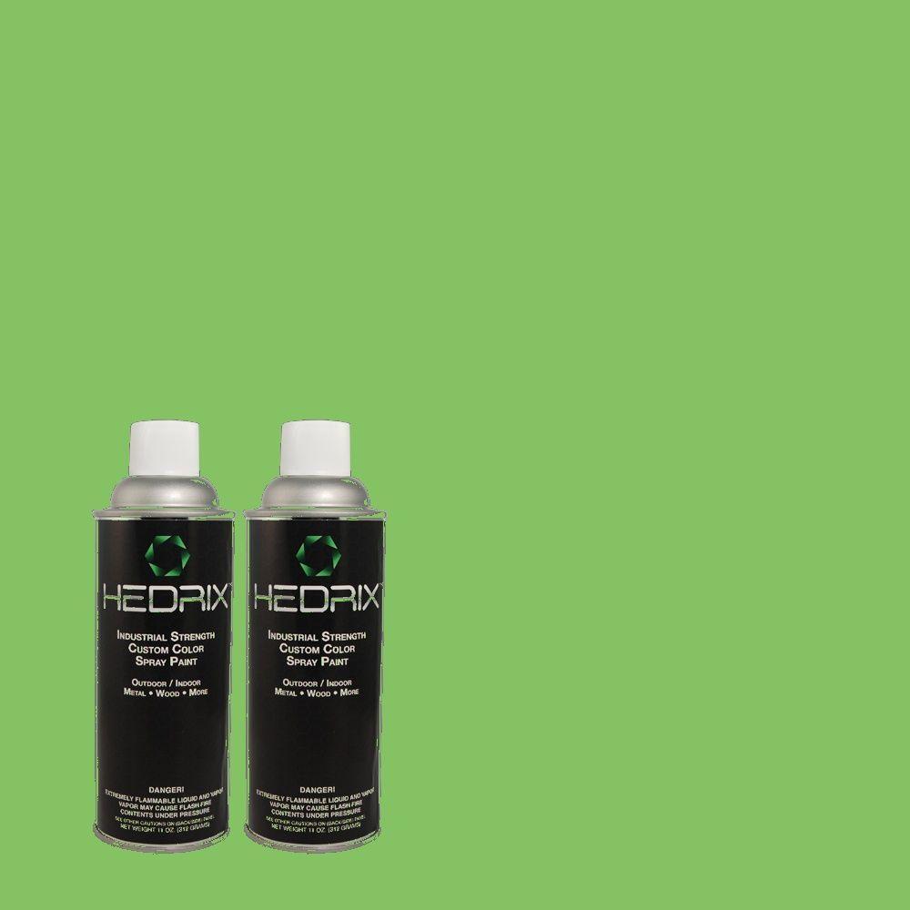 Hedrix 11 oz. Match of 440B-5 Dublin Flat Custom Spray Paint (2-Pack)
